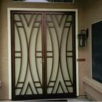 Металлические двери с порошковым напылением и покрытием