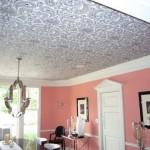 Потолочные обои и потолок