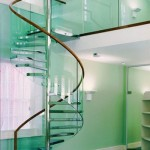 Стеклянные лестницы - оригинальность и стиль