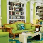Не бойтесь быть креативными — создайте красочную гостиную