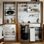 Ну совсем миниатюрная кухня
