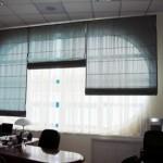 Попробуйте сделать римские шторы сами