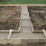 Выбор фундамента для постройки бани
