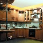 Установка рейлинга на кухне