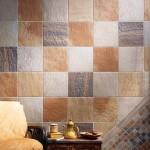 Варианты отделки стен керамической плиткой