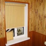 Применение бамбуковых обоев в интерьере помещения