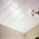 Монтаж декоративной потолочной плитки