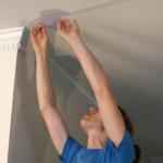Потолочный ремонт в квартире
