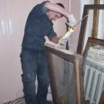 Ремонт деревянных окон