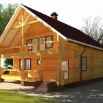 Нюансы при постройке дома из дерева