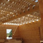 Установка деревянных перегородок