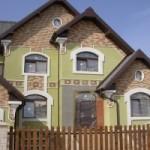 Ремонт фасада частных домов
