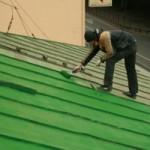 Реставрация крыши путем покраски