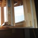 Традиционный способ утепления деревянных окон