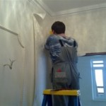 Правильная оклейка стен обоями