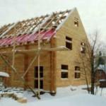 Плюсы строительства дома зимой