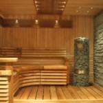 Строительство бани из клееного бруса