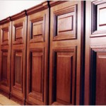 Деревянные панели на стенах, способы установки