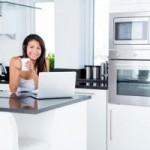Стиль «хай-тек» в оформлении кухни