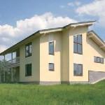 О каркасно-панельных домах и их преимуществах