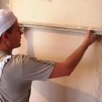 Подготовка при укладке плитки на стену