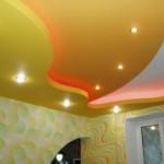 Как покрасить потолок из гипсокартона?
