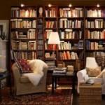 Книжные стеллажи помогут в создании домашних библиотек