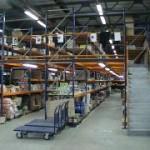 Металлические мезонины для нужд склада