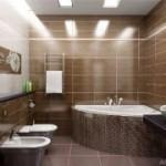 Делаем ремонт стен в ванной комнате