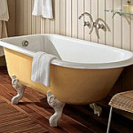 Эта прочная и долговечная ванна из чугуна