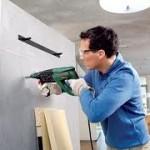 Как просверлить бетонную стену?