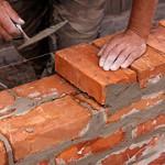 Подготовка к кладке первого ряда строения
