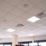 Плитный гипсокартонный потолок