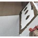Утепляем пенопластом стены внутри дома