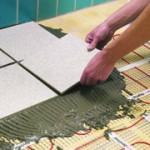 Выбор и способы укладки плитки в ванной