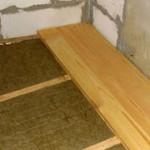 Каким материалом утеплить бетонный пол