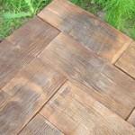 Изготавливаем тротуарную плитку дома