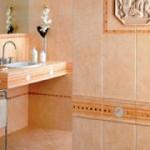 Ремонт в ванной: напольная и настенная плитка