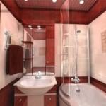 Увеличиваем ванную комнату визуально