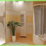 Как визуально увеличить ванную комнату?