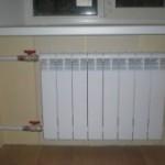 Проводим отопление на лоджию