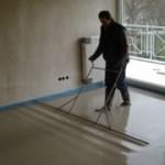 Как выполнить укладку бетонного пола?