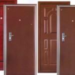 Входная металлическая дверь в дом