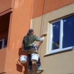 Окраска фасадных элементов, ее особенности