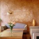 Марокканская штукатурка – необычный способ отделки стен