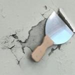 Удаление старой известки со стен