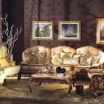 Ремонт гостиной в стиле барокко