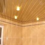Пластиковый потолок и его преимущества