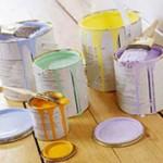 Отделка стен с помощью покраски