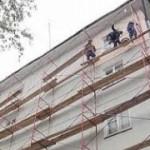 Основные виды ремонта фасадов зданий